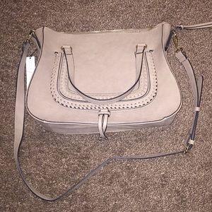 Vegan leather Gray purse